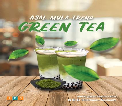 Asal Mula Trend Green Tea Minuman Rumahan Yang Diolah Dengan Bahan Kekinian