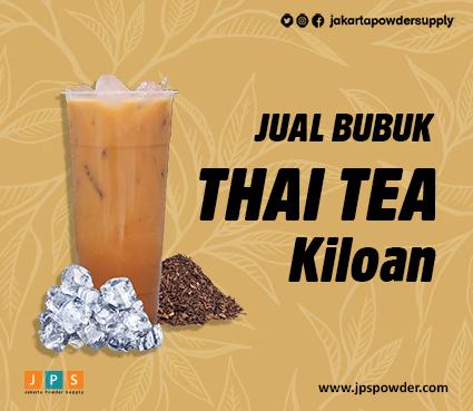 Jual Bubuk ThaiTea Kiloan JPS Rasa Thai Tea-nya Nendang Banget Hubungi Ke 08119778841