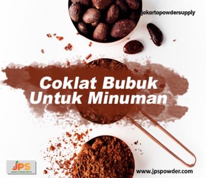 Coklat Bubuk Untuk Minuman Yang Menyegarkan dan Lezat JPS Hubungi Ke 08119778841