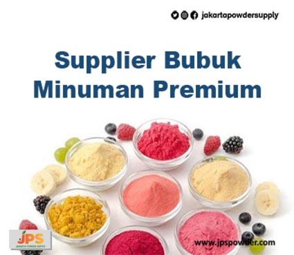 Supplier Bubuk Minuman Premium Untuk Semua Kalangan JPS Hubungi Ke 08119778843
