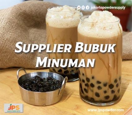 Supplier Bubuk Minuman Terpercaya JPS Hubungi Ke 08119778843